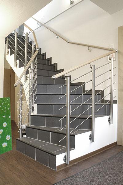 treppenrenovierung beton und holztreppen luxholm. Black Bedroom Furniture Sets. Home Design Ideas