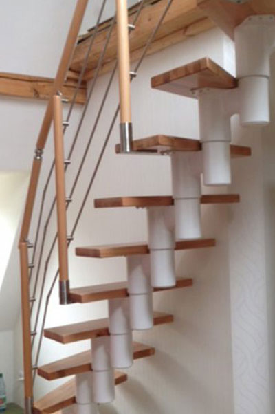 Stahl Mittelholmtreppe